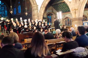 Leek Choral Society – 'Thank You  for the Music'