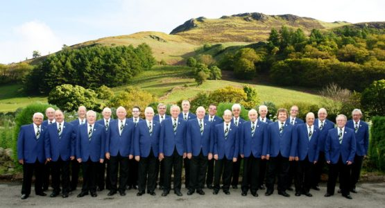 Wetley Rocks Male Voice Choir with Lucy Pond